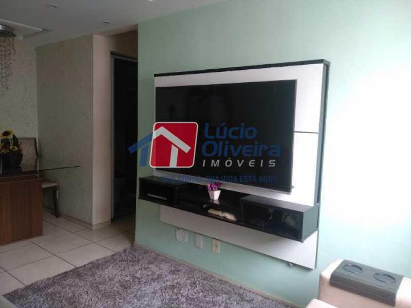 2-Sala ambiente - Apartamento à venda Estrada do Barro Vermelho,Rocha Miranda, Rio de Janeiro - R$ 195.000 - VPAP21649 - 3