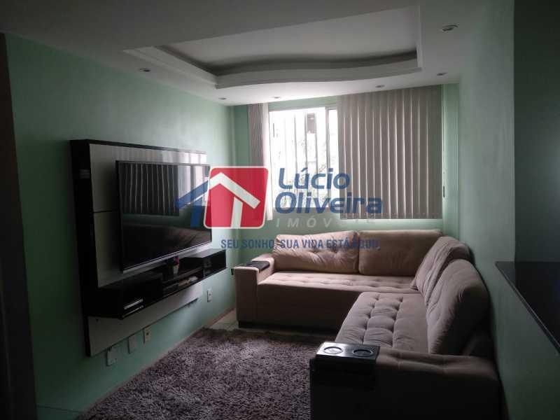 3-Sala ambiente - Apartamento à venda Estrada do Barro Vermelho,Rocha Miranda, Rio de Janeiro - R$ 195.000 - VPAP21649 - 4
