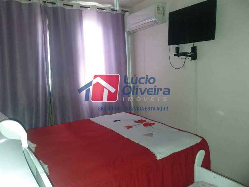 4-Quarto casal....... - Apartamento à venda Estrada do Barro Vermelho,Rocha Miranda, Rio de Janeiro - R$ 195.000 - VPAP21649 - 5