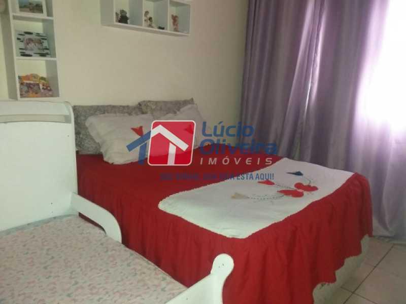 6-Quarto Casal - Apartamento à venda Estrada do Barro Vermelho,Rocha Miranda, Rio de Janeiro - R$ 195.000 - VPAP21649 - 7