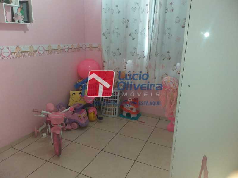 7-Quarto solteiro... - Apartamento à venda Estrada do Barro Vermelho,Rocha Miranda, Rio de Janeiro - R$ 195.000 - VPAP21649 - 8