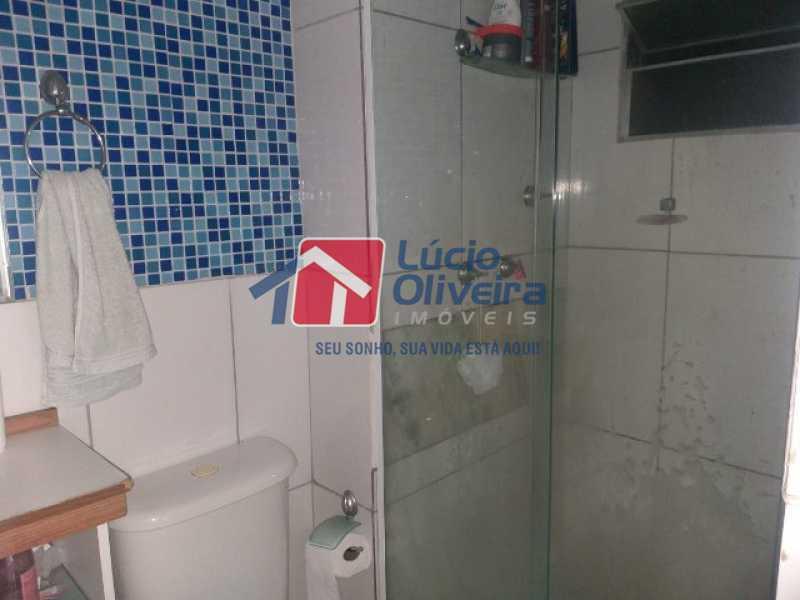 Banheiro blindex - Apartamento à venda Estrada do Barro Vermelho,Rocha Miranda, Rio de Janeiro - R$ 195.000 - VPAP21649 - 11