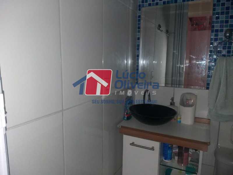 banheiro social - Apartamento à venda Estrada do Barro Vermelho,Rocha Miranda, Rio de Janeiro - R$ 195.000 - VPAP21649 - 12
