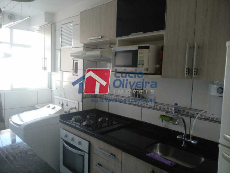 Cozinha planejada - Apartamento à venda Estrada do Barro Vermelho,Rocha Miranda, Rio de Janeiro - R$ 195.000 - VPAP21649 - 15