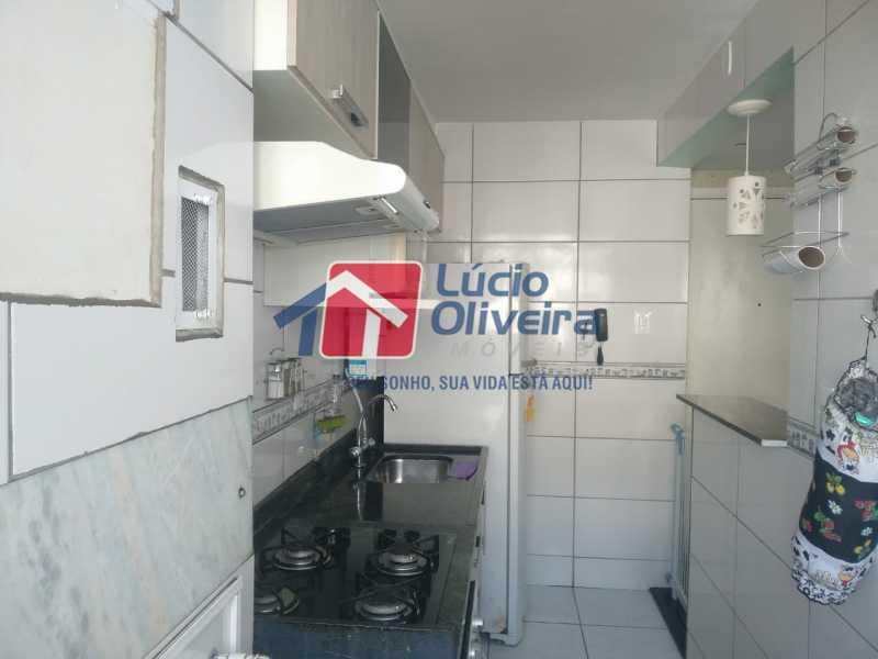Cozinha - Apartamento à venda Estrada do Barro Vermelho,Rocha Miranda, Rio de Janeiro - R$ 195.000 - VPAP21649 - 16
