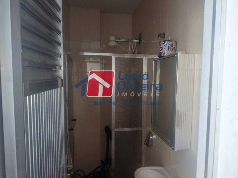18-Banheiro serviço - Apartamento à venda Rua Filomena Nunes,Olaria, Rio de Janeiro - R$ 630.000 - VPAP30420 - 19