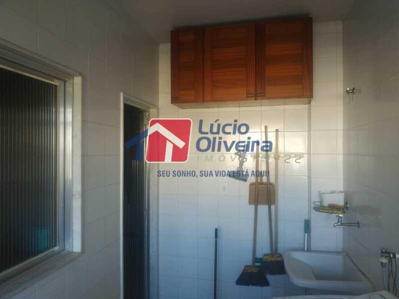 19-ÁREA DE SERVIÇO - Apartamento à venda Rua Filomena Nunes,Olaria, Rio de Janeiro - R$ 630.000 - VPAP30420 - 20