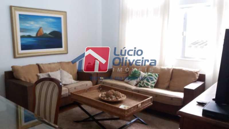 01- Sala - Apartamento à venda Rua Uruguai,Tijuca, Rio de Janeiro - R$ 610.000 - VPAP30421 - 1