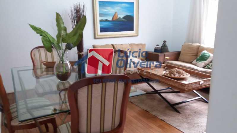 02- Sala - Apartamento à venda Rua Uruguai,Tijuca, Rio de Janeiro - R$ 610.000 - VPAP30421 - 3