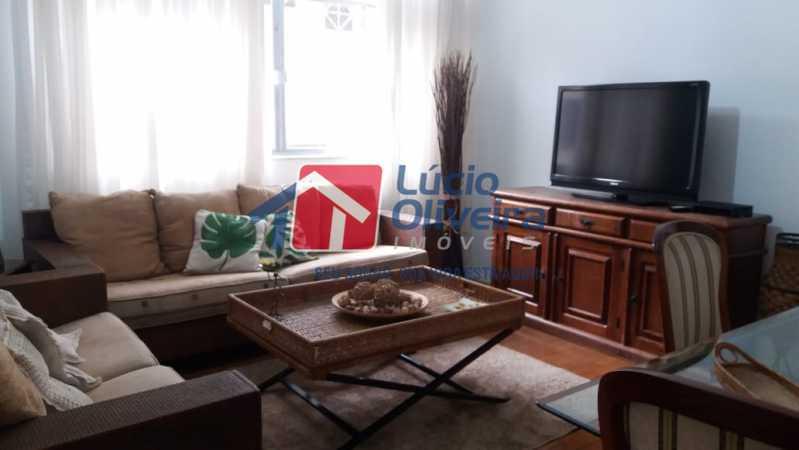 03- Sala - Apartamento à venda Rua Uruguai,Tijuca, Rio de Janeiro - R$ 610.000 - VPAP30421 - 4