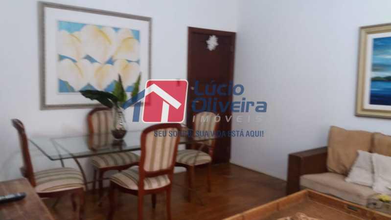 04- Sala - Apartamento à venda Rua Uruguai,Tijuca, Rio de Janeiro - R$ 610.000 - VPAP30421 - 5