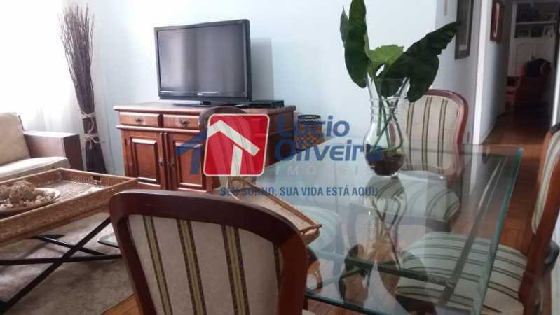 05- Sala - Apartamento à venda Rua Uruguai,Tijuca, Rio de Janeiro - R$ 610.000 - VPAP30421 - 6