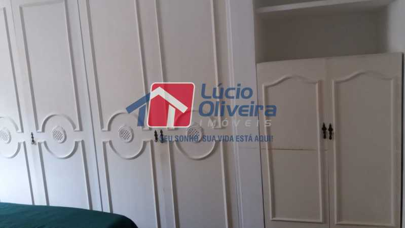 07- Quarto C. - Apartamento à venda Rua Uruguai,Tijuca, Rio de Janeiro - R$ 610.000 - VPAP30421 - 8