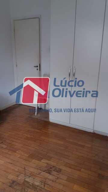 09- Quarto S. - Apartamento à venda Rua Uruguai,Tijuca, Rio de Janeiro - R$ 610.000 - VPAP30421 - 10