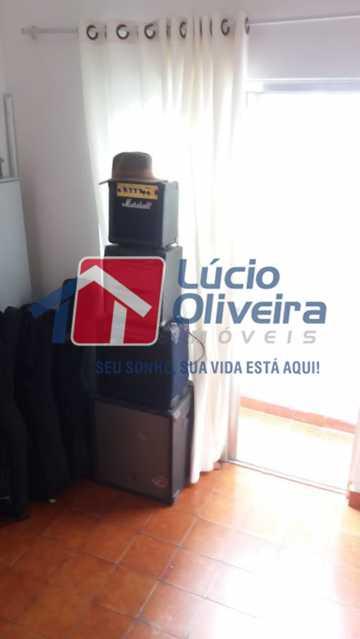 12- Saleta - Apartamento à venda Rua Uruguai,Tijuca, Rio de Janeiro - R$ 610.000 - VPAP30421 - 14