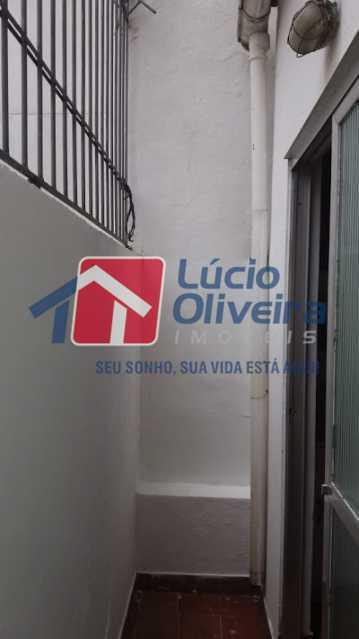 14- Varanda - Apartamento à venda Rua Uruguai,Tijuca, Rio de Janeiro - R$ 610.000 - VPAP30421 - 16