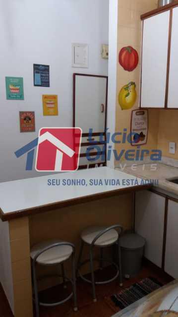 17- Cozinha - Apartamento à venda Rua Uruguai,Tijuca, Rio de Janeiro - R$ 610.000 - VPAP30421 - 19