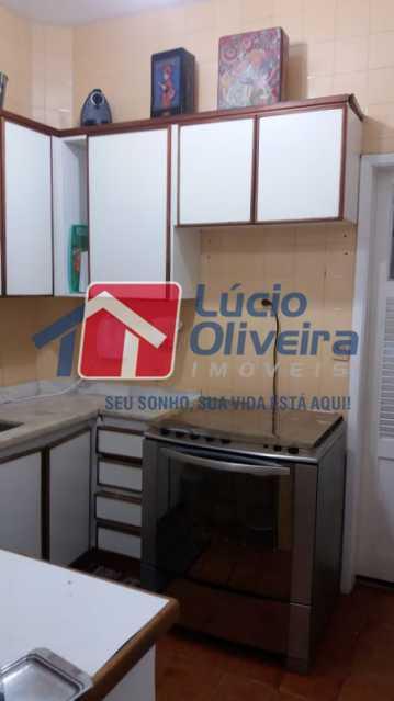 19- Cozinha - Apartamento à venda Rua Uruguai,Tijuca, Rio de Janeiro - R$ 610.000 - VPAP30421 - 21