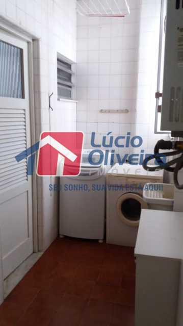 20- Area - Apartamento à venda Rua Uruguai,Tijuca, Rio de Janeiro - R$ 610.000 - VPAP30421 - 22