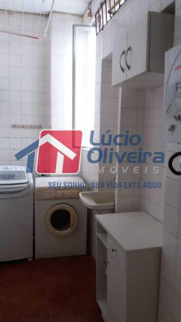 21- area - Apartamento à venda Rua Uruguai,Tijuca, Rio de Janeiro - R$ 610.000 - VPAP30421 - 23