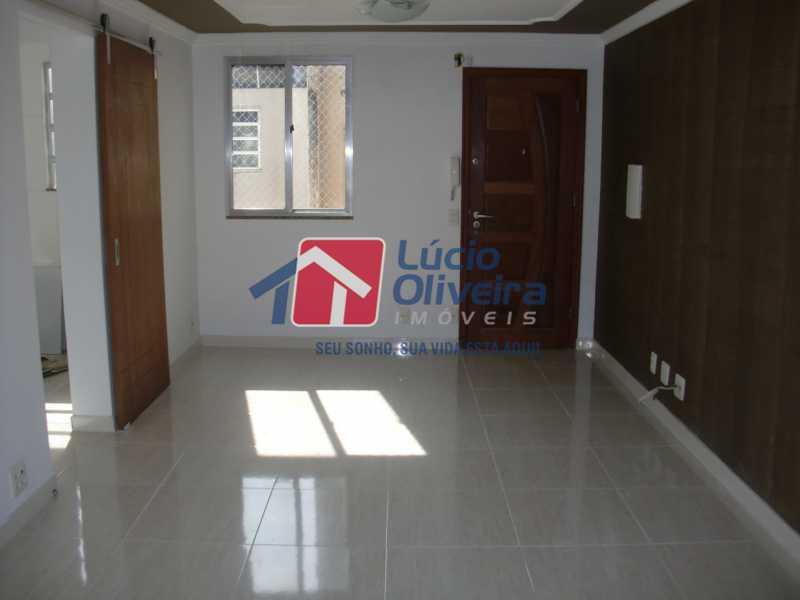 3- Sala ambiente - Apartamento à venda Rua Salomão Filho,Marechal Hermes, Rio de Janeiro - R$ 270.000 - VPAP21650 - 4
