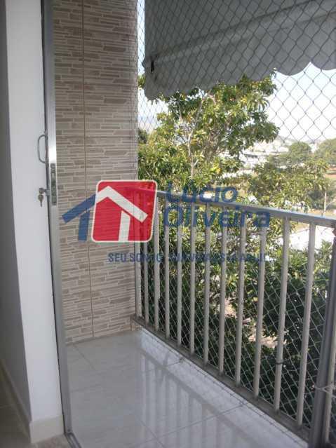 5Varanda 1 - Apartamento à venda Rua Salomão Filho,Marechal Hermes, Rio de Janeiro - R$ 270.000 - VPAP21650 - 6