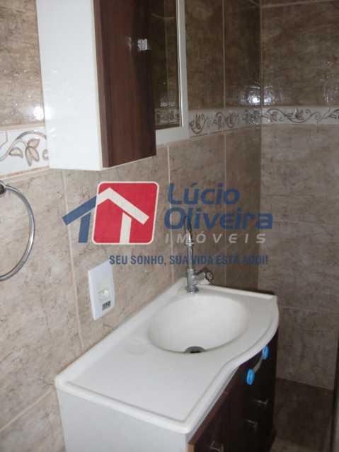 12-Banheiro Social... - Apartamento à venda Rua Salomão Filho,Marechal Hermes, Rio de Janeiro - R$ 270.000 - VPAP21650 - 13