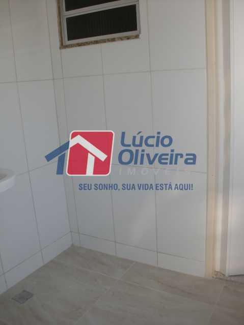 17-Area serviço - Apartamento à venda Rua Salomão Filho,Marechal Hermes, Rio de Janeiro - R$ 270.000 - VPAP21650 - 18