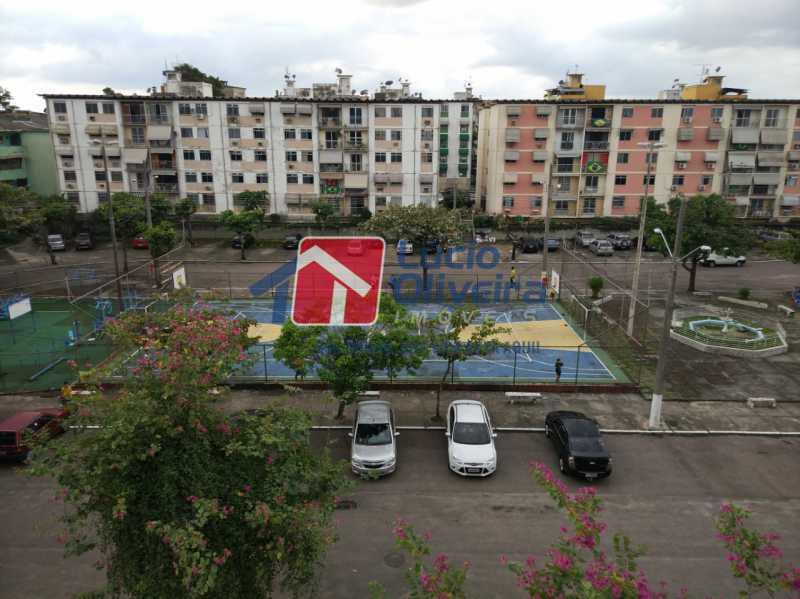 21-Vista interna e quadra - Apartamento à venda Rua Salomão Filho,Marechal Hermes, Rio de Janeiro - R$ 270.000 - VPAP21650 - 22