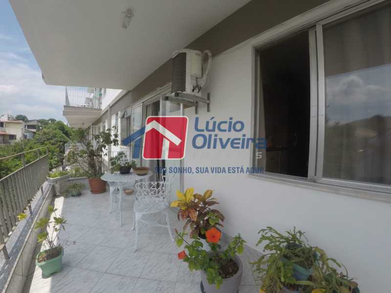 1-Varanda - Apartamento à venda Rua Alberto Pasqualini,Pechincha, Rio de Janeiro - R$ 359.000 - VPAP30422 - 1