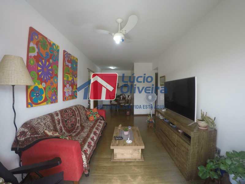 2- Sala estar - Apartamento à venda Rua Alberto Pasqualini,Pechincha, Rio de Janeiro - R$ 359.000 - VPAP30422 - 3