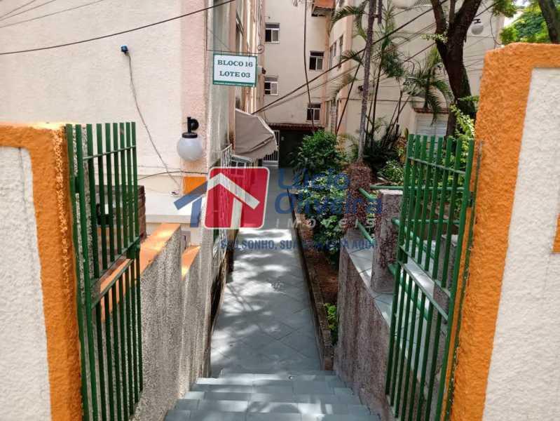 9- entrada - Apartamento à venda Rua Paulo Pires,Tomás Coelho, Rio de Janeiro - R$ 245.000 - VPAP21651 - 10