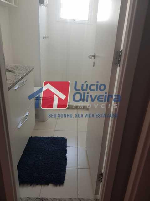 Banheiro Social - Cobertura à venda Rua Bernardo Taveira,Vila da Penha, Rio de Janeiro - R$ 769.000 - VPCO30035 - 10