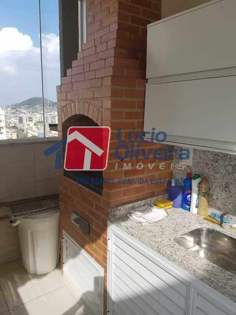Área Gourmet.. - Cobertura à venda Rua Bernardo Taveira,Vila da Penha, Rio de Janeiro - R$ 769.000 - VPCO30035 - 28