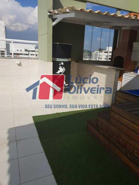 Área Gourmet - Cobertura à venda Rua Bernardo Taveira,Vila da Penha, Rio de Janeiro - R$ 769.000 - VPCO30035 - 29