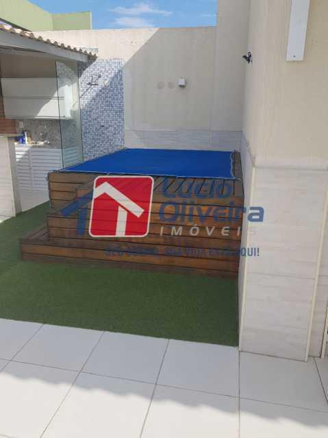 Terraço...... - Cobertura à venda Rua Bernardo Taveira,Vila da Penha, Rio de Janeiro - R$ 769.000 - VPCO30035 - 1