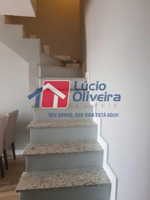 Escada Terraço - Cobertura à venda Rua Bernardo Taveira,Vila da Penha, Rio de Janeiro - R$ 769.000 - VPCO30035 - 25