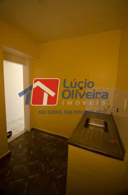 8-cozinha - Apartamento à venda Avenida Pastor Martin Luther King Jr,Tomás Coelho, Rio de Janeiro - R$ 135.000 - VPAP21655 - 9