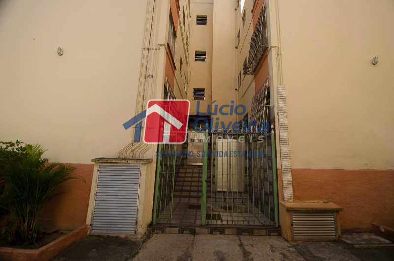 10-area externa - Apartamento à venda Avenida Pastor Martin Luther King Jr,Tomás Coelho, Rio de Janeiro - R$ 135.000 - VPAP21655 - 11