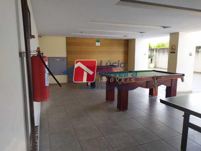 Área de jogos - Apartamento à venda Rua Cerqueira Daltro,Cascadura, Rio de Janeiro - R$ 265.000 - VPAP21656 - 22