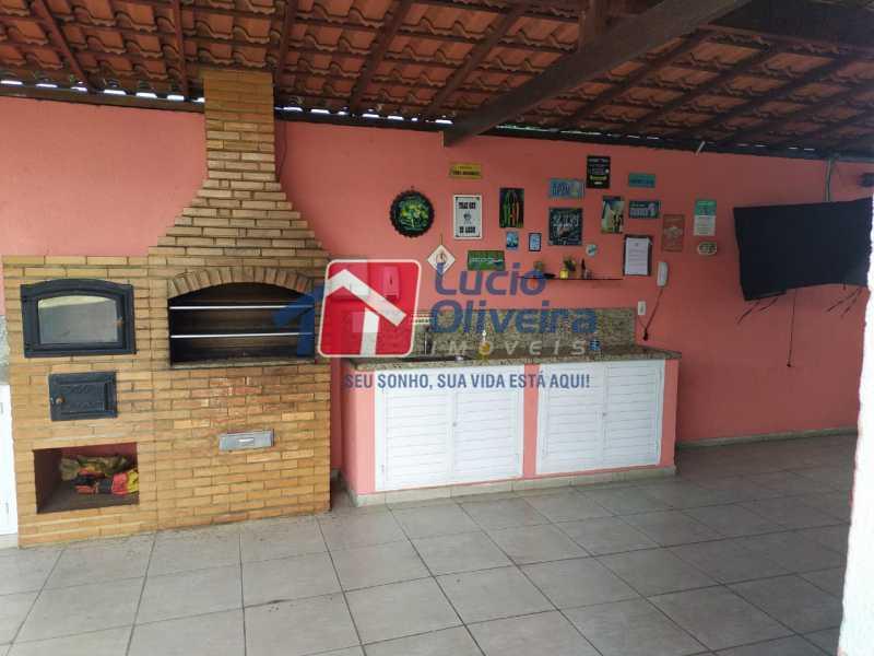 Área Gourmet. - Apartamento à venda Rua Cerqueira Daltro,Cascadura, Rio de Janeiro - R$ 265.000 - VPAP21656 - 23
