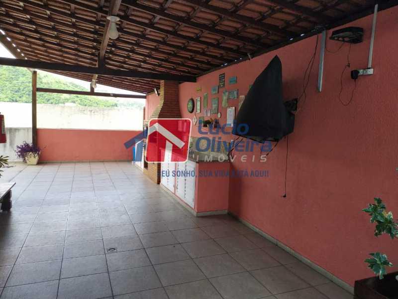Área Gourmet - Apartamento à venda Rua Cerqueira Daltro,Cascadura, Rio de Janeiro - R$ 265.000 - VPAP21656 - 24
