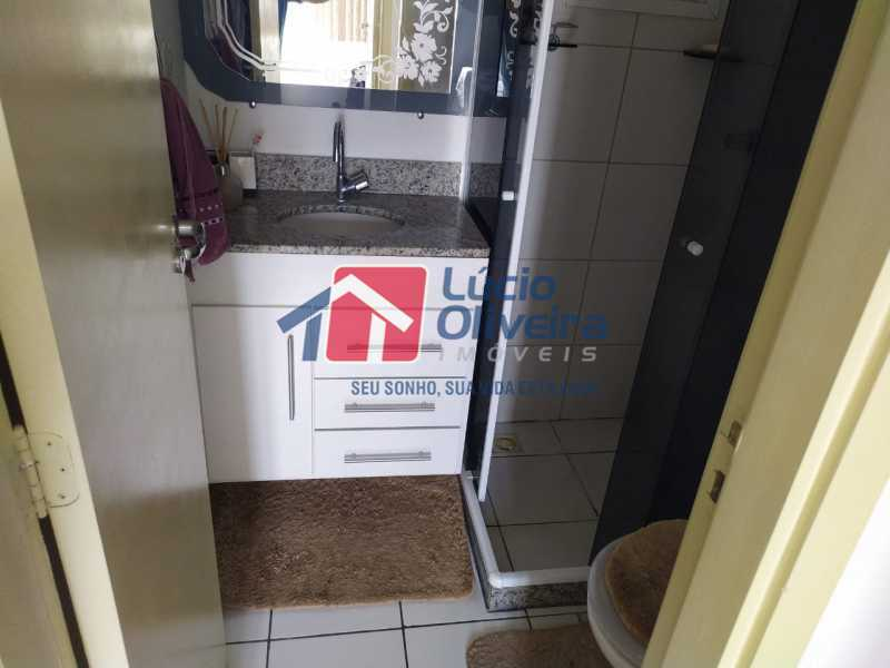 Banheiro - Apartamento à venda Rua Cerqueira Daltro,Cascadura, Rio de Janeiro - R$ 265.000 - VPAP21656 - 16