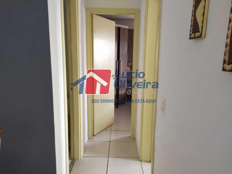 Corredor - Apartamento à venda Rua Cerqueira Daltro,Cascadura, Rio de Janeiro - R$ 265.000 - VPAP21656 - 11