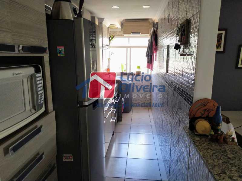 Cozinha - Apartamento à venda Rua Cerqueira Daltro,Cascadura, Rio de Janeiro - R$ 265.000 - VPAP21656 - 20