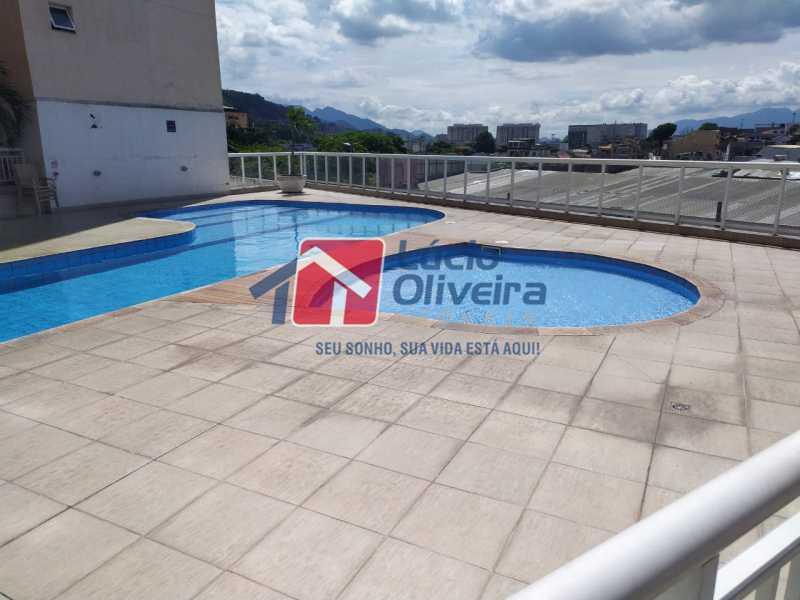 Piscina - Apartamento à venda Rua Cerqueira Daltro,Cascadura, Rio de Janeiro - R$ 265.000 - VPAP21656 - 26