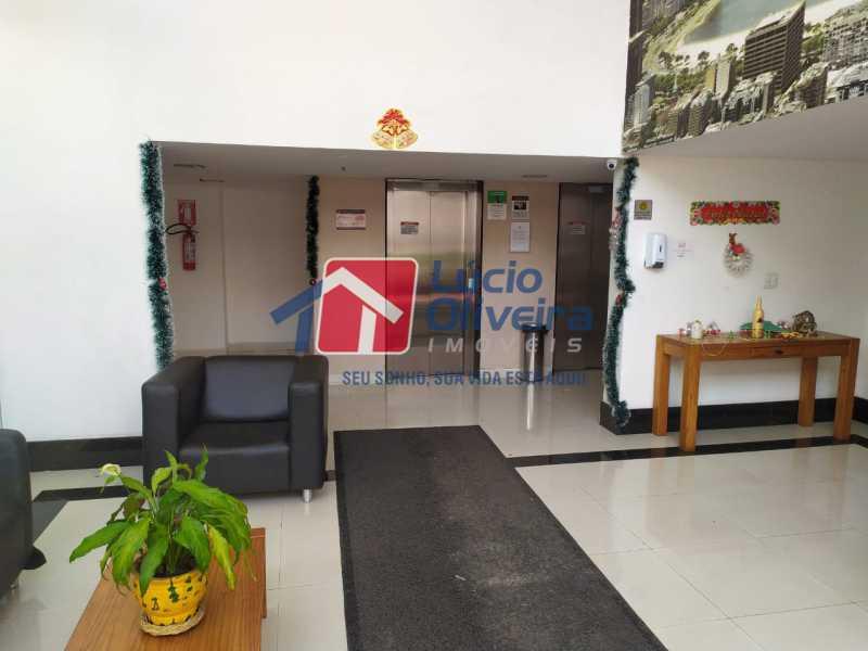 Portaria - Apartamento à venda Rua Cerqueira Daltro,Cascadura, Rio de Janeiro - R$ 265.000 - VPAP21656 - 30