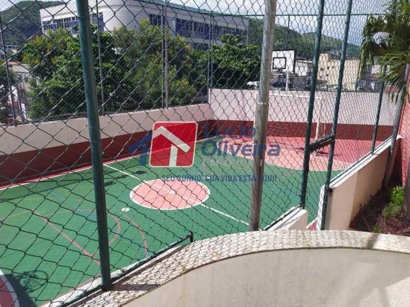 Quadra de futebol - Apartamento à venda Rua Cerqueira Daltro,Cascadura, Rio de Janeiro - R$ 265.000 - VPAP21656 - 27