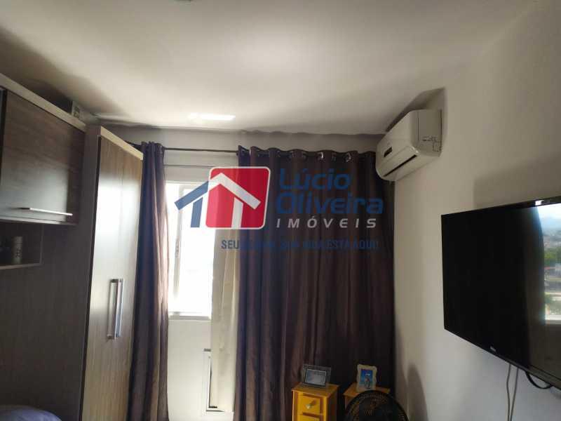 Quarto 1. - Apartamento à venda Rua Cerqueira Daltro,Cascadura, Rio de Janeiro - R$ 265.000 - VPAP21656 - 12