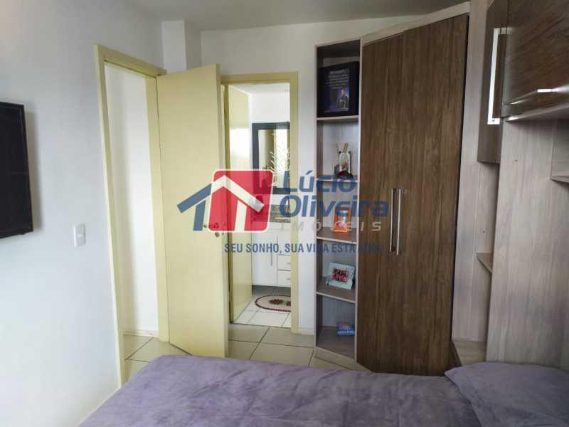 Quarto 1 - Apartamento à venda Rua Cerqueira Daltro,Cascadura, Rio de Janeiro - R$ 265.000 - VPAP21656 - 14